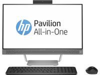 "HP Pavilion 24-A172cn 2.8GHz i7-6700T 23.8"" 1920 x 1080Pixel Bianco PC All-in-one"