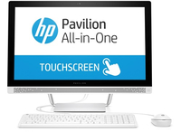 "HP Pavilion 24-b172d 2.8GHz i7-6700T 23.8"" 1920 x 1080Pixel Touch screen Bianco PC All-in-one"