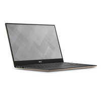 "DELL XPS 9360 2.70GHz i7-7500U 13.3"" 3200 x 1800Pixel Touch screen Nero, Oro Computer portatile"