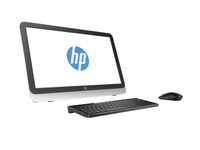 "HP 23-r103la 1.9GHz i5-4460T 23"" 1920 x 1080Pixel Nero, Bianco PC All-in-one"