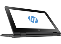 "HP x360 11-ab000nw 1.6GHz N3060 11.6"" 1366 x 768Pixel Touch screen Nero Ibrido (2 in 1)"