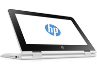 "HP x360 11-ab010nd 1.6GHz N3060 11.6"" 1366 x 768Pixel Touch screen Bianco Ibrido (2 in 1)"