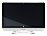 "HP 22-b013d 2.3GHz i3-6100U 21.5"" 1920 x 1080Pixel Touch screen Bianco PC All-in-one"