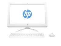 "HP 22-b010l 2.3GHz i3-6100U 21.5"" 1920 x 1080Pixel Bianco PC All-in-one"
