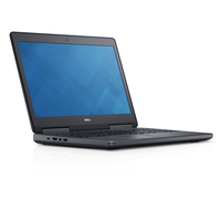 "DELL Precision M7510 + Microsoft Office Home & Student 2016 2.7GHz i7-6820HQ 15.6"" 1920 x 1080Pixel Nero Workstation mobile"