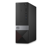 DELL Vostro 3252 + Microsoft Office Home & Business 2016 1.6GHz J3160 Desktop piccolo Nero PC