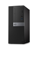DELL OptiPlex 7040 MT + Microsoft Office Home & Student 2016 3.4GHz i7-6700 Mini Tower Nero PC