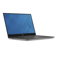 "DELL XPS 9360 + Microsoft Office Home & Business 2016 2.70GHz i7-7500U 13.3"" 3200 x 1800Pixel Touch screen Nero, Argento Computer portatile"