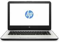"HP 14-am013nd 1.6GHz N3060 14"" 1366 x 768Pixel Nero, Bianco Computer portatile"