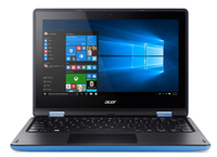 "Acer Aspire R 11 R3-131T-P7PY 1.6GHz N3710 11.6"" 1366 x 768Pixel Touch screen Nero, Blu Ibrido (2 in 1)"