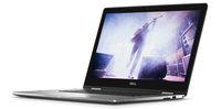 "DELL Inspiron 15 2.50GHz i5-7200U 15.6"" 1920 x 1080Pixel Touch screen Nero, Argento Ibrido (2 in 1)"