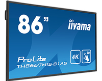 "iiyama TH8667MIS-B1AG Digital signage flat panel 86"" LED 4K Ultra HD Nero signage display"