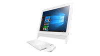 "Lenovo C20-00 1.6GHz N3700 19.5"" 1920 x 1080Pixel Bianco PC All-in-one"