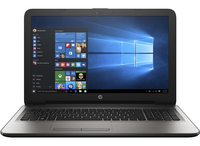"HP 15-ay091ms 2.3GHz i3-6100U 15.6"" 1366 x 768Pixel Touch screen Argento Computer portatile"
