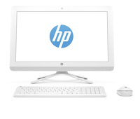 "HP Pavilion 22-b021cn 1.6GHz J3710 21.5"" 1920 x 1080Pixel Bianco PC All-in-one"
