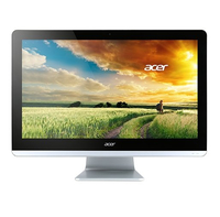 "Acer Aspire ZC-700 1.6GHz J3710 19.5"" 1920 x 1080Pixel Nero, Argento PC All-in-one"