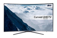 "Samsung UE65KU6505U 65"" 4K Ultra HD Smart TV Wi-Fi Nero, Argento LED TV"