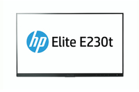 "HP EliteDisplay E230t Head Only 23"" 1920 x 1080Pixel Multi-touch Tavolo Nero, Argento monitor touch screen"