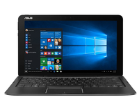 "ASUS Transformer Book T302CA-GI044T 0.9GHz m3-6Y30 12.5"" 2560 x 1440Pixel Touch screen Nero Ibrido (2 in 1) notebook/portatile"