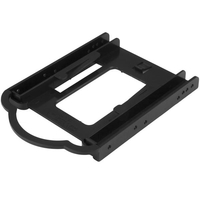 """StarTech.com 2.5"""" SSD/HDD Mounting Bracket for 3.5"""" Drive Bay - Tool-less Installation"""