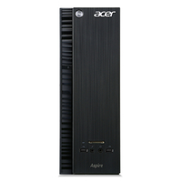 Acer Aspire XC-704 1.6GHz J3710 Scrivania Nero PC