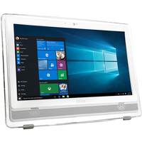 "MSI Pro 22ET 4BW-022XEU 1.6GHz N3160 21.5"" 1920 x 1080 Pixel Touch screen PC All-in-one, Bianco"