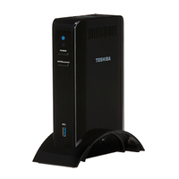 Toshiba PA5266U-1PRP WiGig Nero replicatore di porte e docking station per notebook