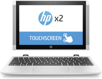 "HP 10-p001tu 1.44GHz x5-Z8350 10.1"" 1280 x 800Pixel Touch screen Argento Ibrido (2 in 1)"