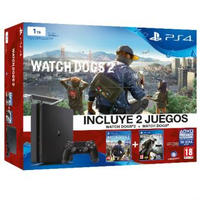 Sony PlayStation 4, Watch Dogs, Watch Dogs 2 1000GB Wi-Fi Nero