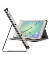 "Cellularline Folio - Galaxy Tab S2 2016 (8.0"") Custodia per tablet con innovativo stand multiangolo Nero"