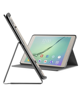 "Cellularline Folio - Galaxy Tab S2 2016 (9.7"") Custodia per tablet con innovativo stand multiangolo Nero"