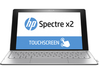 "HP Spectre x2 12-a000nt 1.2GHz m7-6Y75 12"" 1920 x 1280Pixel Touch screen Argento Ibrido (2 in 1)"