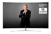 "Samsung UE65KS9002T 65"" 4K Ultra HD Smart TV Wi-Fi Nero, Argento LED TV"