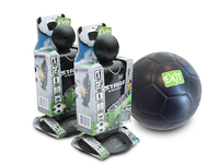 EXIT Striker Streetsoccer - Set of 2 + Mini Foam Ball Attaccante per calcio da strada