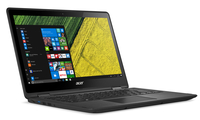 "Acer Spin SP513-51-79TA 2.70GHz i7-7500U 13.3"" 1920 x 1080Pixel Touch screen Nero Ibrido (2 in 1)"