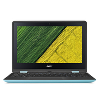 "Acer Spin SP111-31-C34F 1.10GHz N3350 11.6"" 1920 x 1080Pixel Touch screen Nero, Turchese Ibrido (2 in 1)"