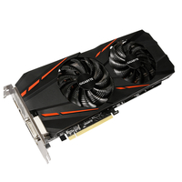 Gigabyte GeForce GTX 1060 G1 Gaming 6G (rev. 2.0) GeForce GTX 1060 6GB GDDR5
