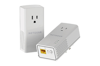 Netgear PLP1000 1000Mbit/s Ethernet LAN White 2pc(s) PowerLine network adapter