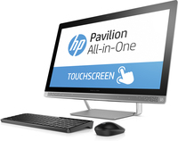 "HP Pavilion 27-a172d 2.8GHz i7-6700T 27"" 1920 x 1080Pixel Touch screen Bianco PC All-in-one"