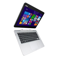 "ASUS Transformer Book T300FA-FE002H 0.8GHz M-5Y10 12.5"" 1366 x 768Pixel Touch screen Blu, Grigio Ibrido (2 in 1)"