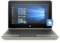 "HP Pavilion x360 13-u000ur 2.3GHz i3-6100U 13.3"" 1920 x 1080Pixel Touch screen Oro Ibrido (2 in 1)"