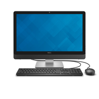 "DELL Inspiron 24 2.2GHz i5-6400T 23.8"" 1920 x 1080Pixel Nero, Argento PC All-in-one"
