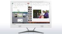 "Lenovo IdeaCentre 300 2.1GHz 4405U 23"" 1920 x 1080Pixel Bianco PC All-in-one"