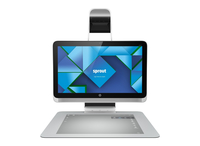 "HP Sprout 23-s309 3.2GHz i7-4790S 23"" 1920 x 1080Pixel Touch screen Argento All-in-One workstation"