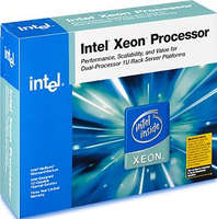 Intel Xeon 64-bit ® ® Processor 3.00 GHz, 1M Cache, 667 MHz FSB 3.00GHz 2MB L2 Scatola processore
