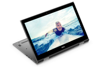 "DELL Inspiron 15 2.50GHz i5-7200U 15.6"" 1920 x 1080Pixel Touch screen Nero, Grigio Ibrido (2 in 1)"