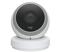 Logitech Circle IP security camera Interno Cupola Bianco