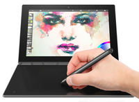"Lenovo YOGA Book 1.44GHz x5-Z8550 10.1"" 1200 x 1920Pixel Touch screen 4G Grigio Ibrido (2 in 1)"