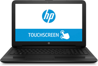 "HP 15-ay071nr 2GHz i3-5005U 15.6"" 1366 x 768Pixel Touch screen Nero Computer portatile"