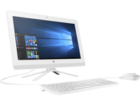 "HP 20-005la 1.8GHz E2-7110 19.5"" 1600 x 900Pixel Bianco PC All-in-one"